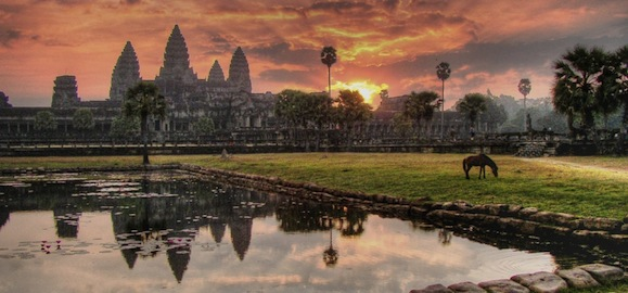 Древние храмы Ангкор