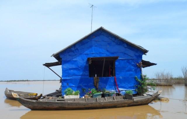 Озеро Тонлесап Камбоджа