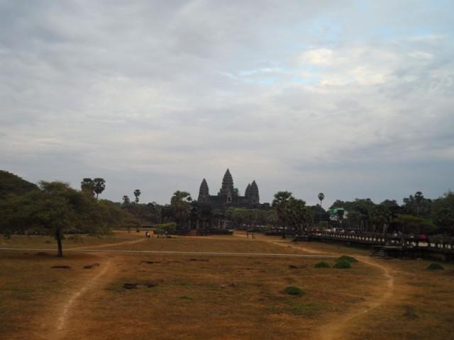 Древний храм Анкор Ват