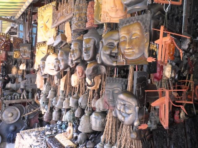 Сувенирная лавка Камбоджа