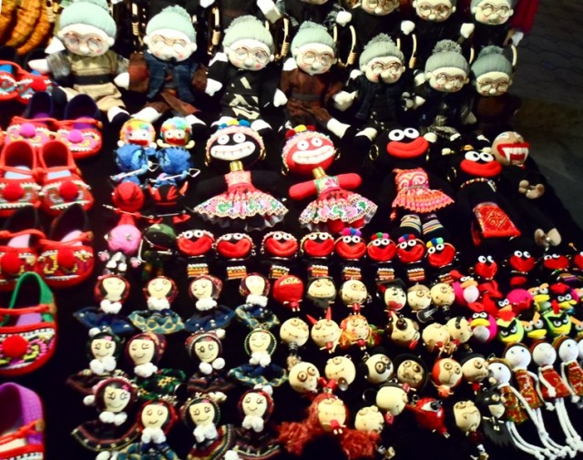 уличном рынке Чанг Май