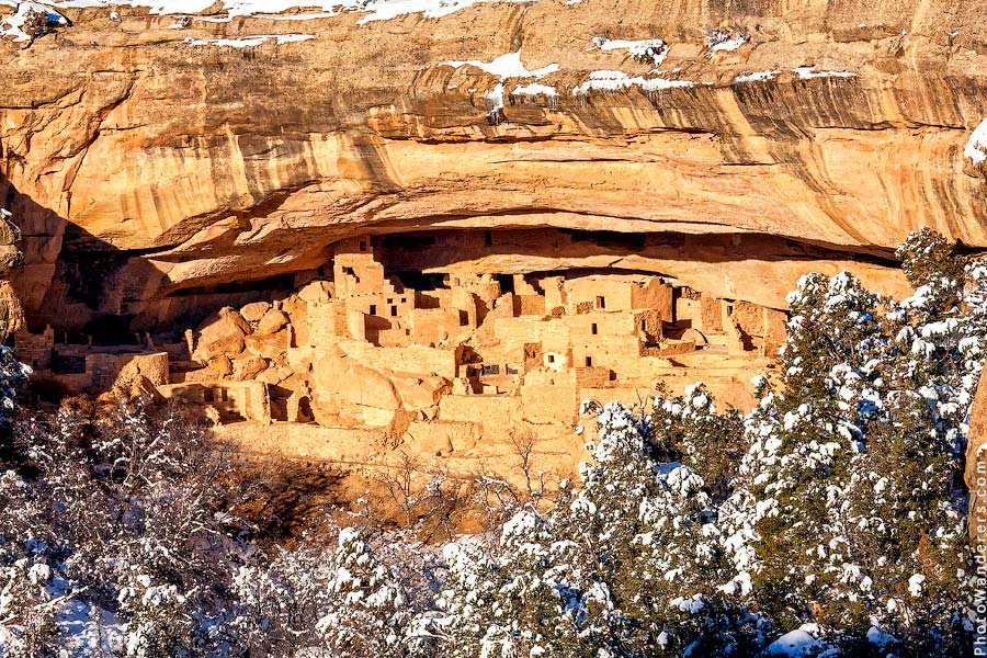 Скальный Дворец, Меса-Верде, Колорадо | Cliff Palace. Mesa Verde, CO