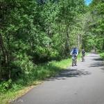 Катание на велосипеде в США по Грин вей