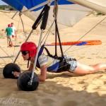 Полет на дельтаплане – мой первый опыт