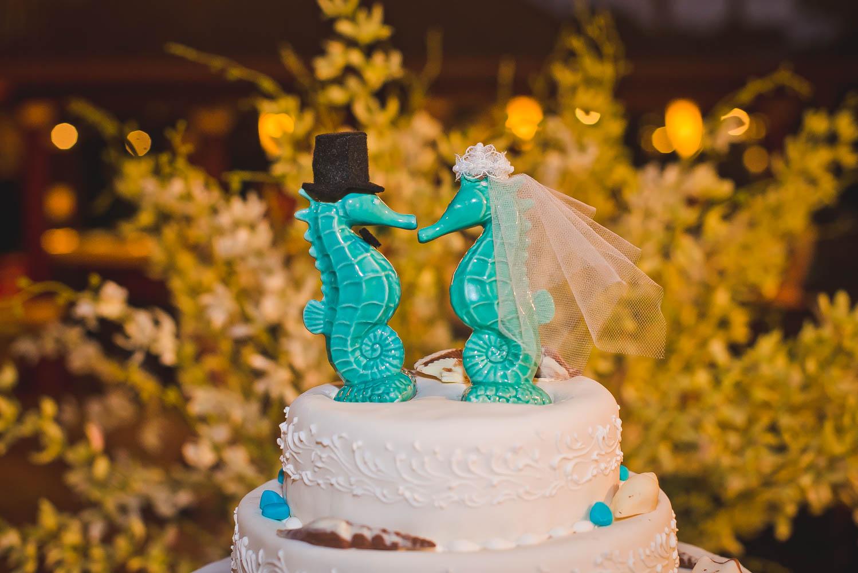 Морские коньки свадьба
