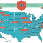 10 лучших городов для жизни в США. Лучшие города США.