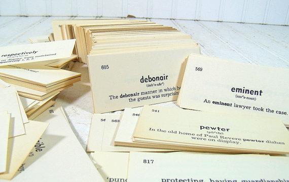 карточки со словами