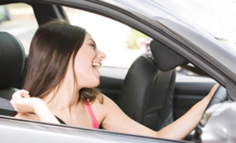петь в машине